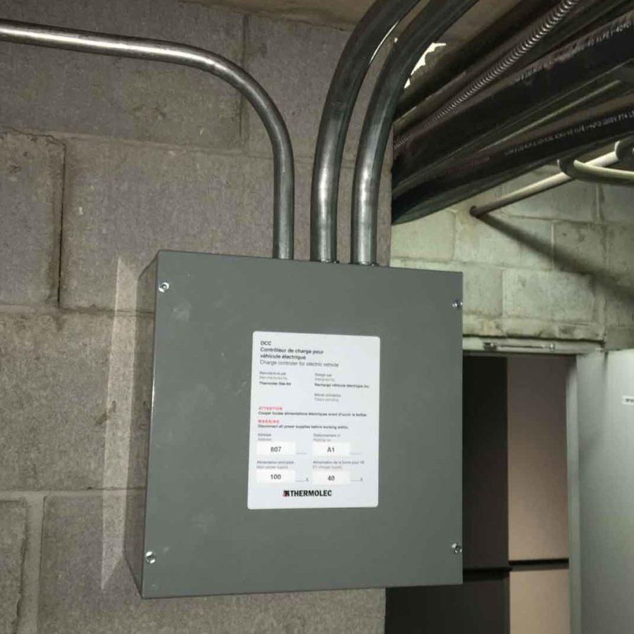 DCC-9 installation.