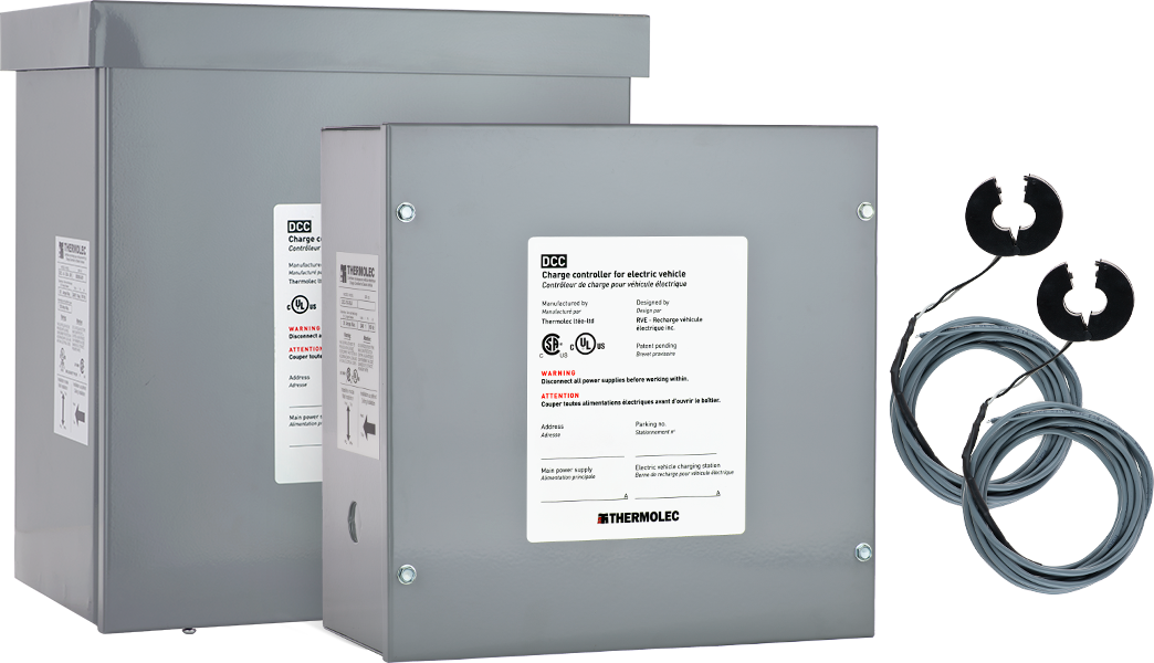 DCC-10 and DCC-10-3R is used for residential electric vehicle charging installations by electricians across North America
